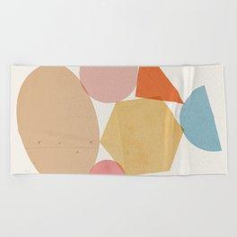 Abstraction_Balances_006 Beach Towel