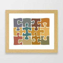One World Framed Art Print