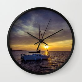 Before the sun sets Wall Clock