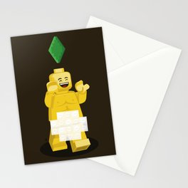 I want to brick free ! Stationery Cards