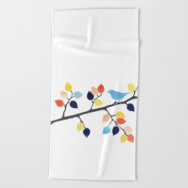 Perched Beach Towel