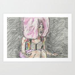 """""""I Feel Very Attacked!"""" Art Print"""
