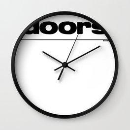 Master Key Wall Clock