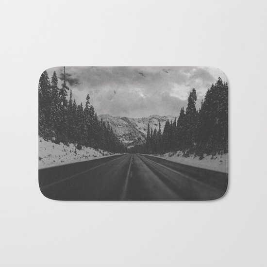 December Road Trip in the Pacific Northwest Bath Mat