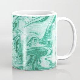 Eiji - modern minimal marbled ink paper monoprint printmaking japanese spilled ink artwork  Coffee Mug