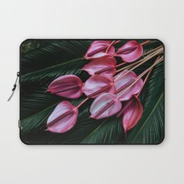 Anthurium and Sago Palm Laptop Sleeve