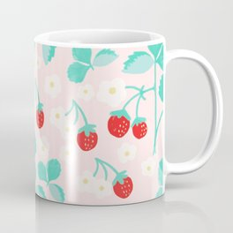 Strawberry and vine pattern Coffee Mug