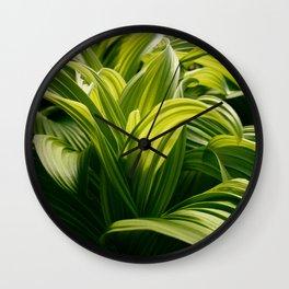 Green Goodness by Mandy Ramsey, Haines, Alaska Wall Clock