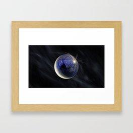 Late Peace Framed Art Print