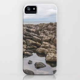 Giants Causeway Reflection iPhone Case