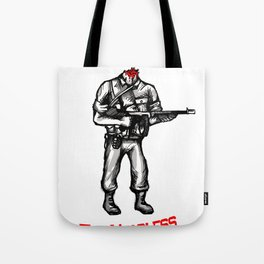 Roland The Headless Thompson Gunner Tote Bag