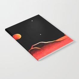 CITY ON MARS Notebook