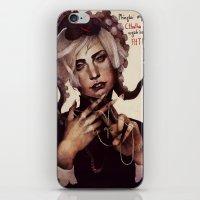 cthulhu iPhone & iPod Skins featuring CTHULHU by MYLÈNE BRAGINA