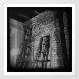 Latter Ladders. Art Print