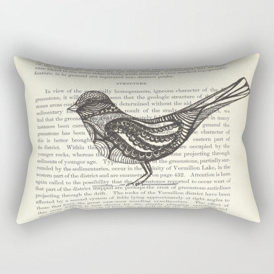 Perched Rectangular Pillow