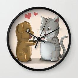 Valentine 2016 Wall Clock
