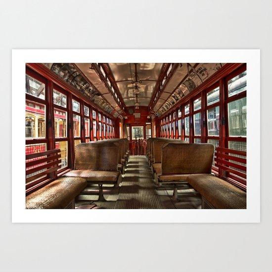 Train 4387 Art Print
