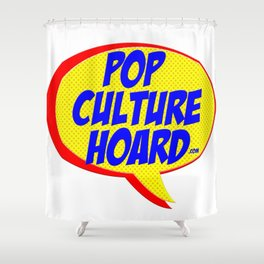 Pop Culture Hoard.com Shower Curtain