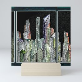 Room with a view Mini Art Print