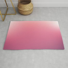 White, Pink, Claret and Purple Blurred Background Rug