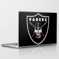 oakland Laptop & iPad Skins featuring Oakland Vaders by Ant Atomic