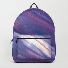 Purple Wave Backpack