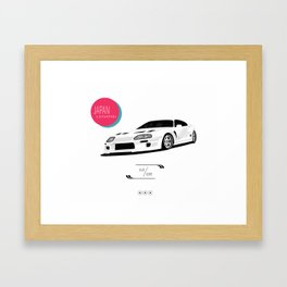 JAPAN LEGEND Framed Art Print