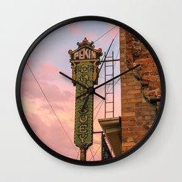 Pekin Noodle Parlor Wall Clock