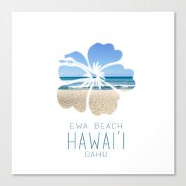 Ewa Beach  Canvas Print