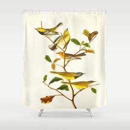 Birds & Plants Shower Curtain