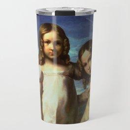 """Théodore Géricault """"Portrait of Alfred and Elisabeth Dedreux"""" Travel Mug"""