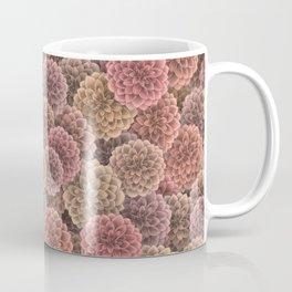 Dahlias pattern Coffee Mug