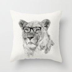 Wild Hipster Throw Pillow