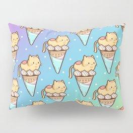 Ice Cream Cat Pillow Sham