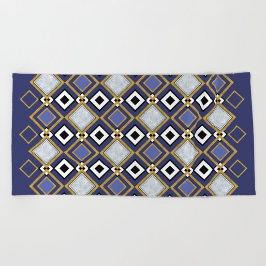 Purple Jade Beach Towel