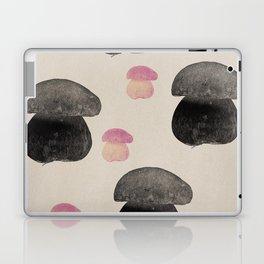 Black mushroom Laptop & iPad Skin
