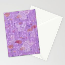Living with Lupus Stationery Cards