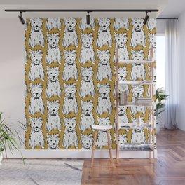 Milo the dog Wall Mural
