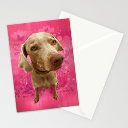 PARKER POSEY (strawberry) puffy cloud series Stationery Cards