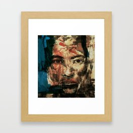 The Human Race 2 Framed Art Print