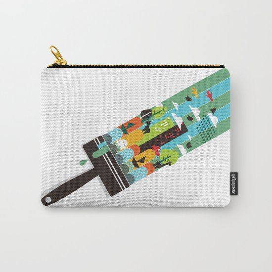 Paint your world Carry-All Pouch