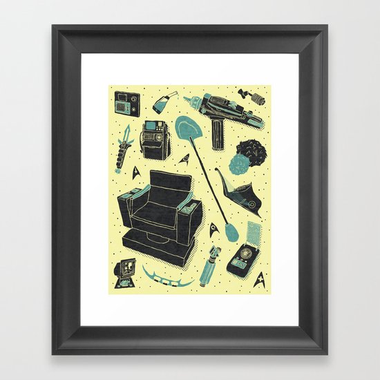 Artifacts: Star Trek Framed Art Print