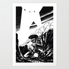 Trinchera Art Print