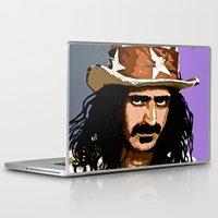 zappa Laptop & iPad Skins featuring Zappa by Saundra Myles