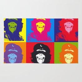 Chimp Guevara 9 Times T-shirt Canvas Print Rug