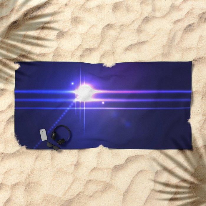 Bright Light Beach Towel