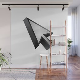 3D cursor (arrow) Wall Mural