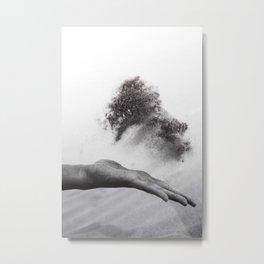 Hand of time Metal Print
