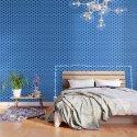 Bright blue Geometric Pattern Design by artaddiction45