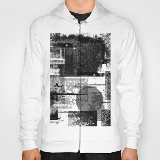 B&W Abstract One Hoody